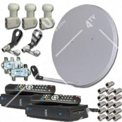 Комплект для самостоятельной установки СТАНДАРТ HD НА ДВЕ АНТЕННЫ на 2 ТВ
