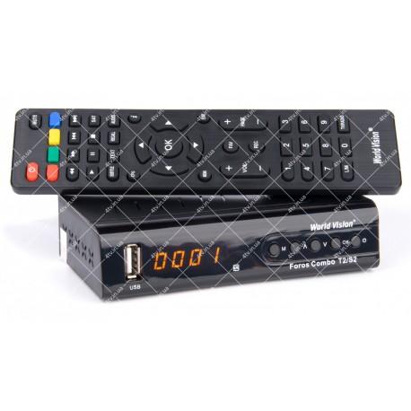 World Vision Foros Combo DVB-T2/S2
