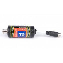 Антенный усилитель DVB-T2 5V Бочка штекер